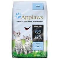 APPLAWS Dry Cat Kitten - granule pro koťata 7,5kg + obojek Diaz 35cm