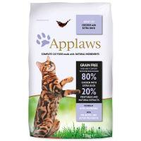 APPLAWS Dry Cat Chicken & Duck - granule pro kočky s kachnou 7,5kg + obojek Diaz 35cm