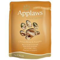 Applaws kapsička Cat kuřecí prsa a dýně 70g