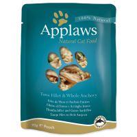 Applaws kapsička Cat tuňák a celé ančovičky 70g