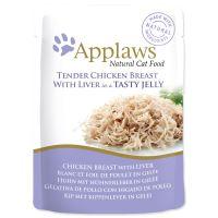 Applaws kapsička Cat JELLY kuře a kuřecí játra v aspiku 70g