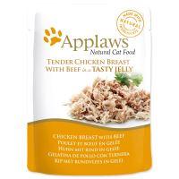 Applaws kapsička Cat JELLY kuřecí prsa a hovězí v aspiku 70g