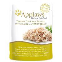 Applaws kapsička Cat JELLY kuře a  jehněčí v aspiku 70g