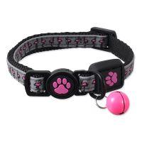 Obojek ACTIV CAT Reflective růžový XS