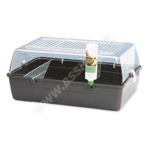 Box SAVIC Rody Cavia šedý 70x45x31cm