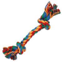 Uzel DOG FANTASY bavlněný barevný 2 knoty 20cm