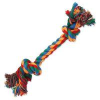 Uzel DOG FANTASY bavlněný barevný 2 knoty 25cm