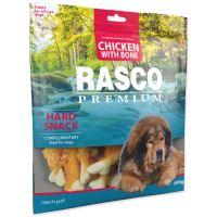 Pochoutka RASCO Premium kosti obalené kuřecím masem 500g