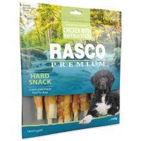 Pochoutka RASCO Premium tyčinky bůvolí obalené kuřecím masem 500g