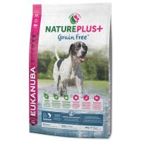 EUKANUBA Nature Plus+ Adult Grain Free Salmon 10kg