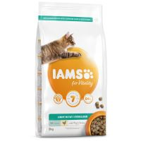 IAMS for Vitality Weight Control Cat Food with Fresh Chicken 2kg