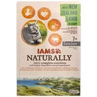 Kapsička IAMS Cat Naturally Senior with New Zealand Lamb in Gravy 85g