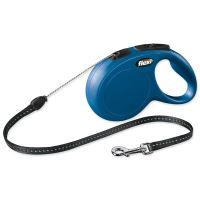 Vodítko FLEXI Classic New lanko modré S 8m