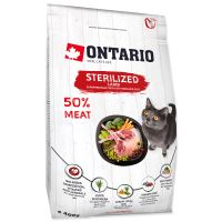 ONTARIO Cat Sterilised Lamb 400g