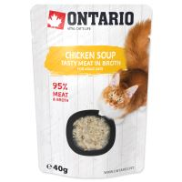 ONTARIO Cat Soup Chicken with vegetables 40g