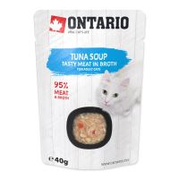 ONTARIO Cat Soup Tuna with vegetables 40g