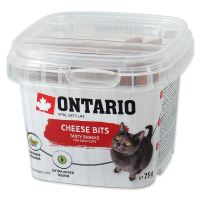 ONTARIO pochoutka Cheese Bits 75g