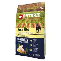 ONTARIO Adult Mini Chicken & Potatoes & Herbs 6,5kg