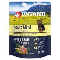 ONTARIO Adult Mini Lamb & Rice 750g