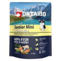 ONTARIO Senior Mini Fish & Rice 750g