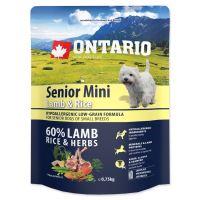 ONTARIO Senior Mini Lamb & Rice 750g