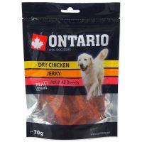ONTARIO pochoutka Dry Chicken Jerky 70g