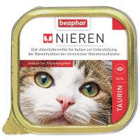 Paštika BEAPHAR Renální dieta pro kočky s taurinem 100g