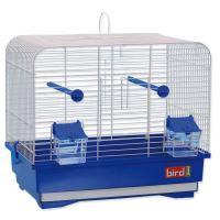 Klec BIRD JEWEL KS7 bílá + modrá 40x25,5x34,5cm