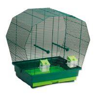 Klec BIRD JEWEL K6 tmavě zelená 57,5x33,5x55cm