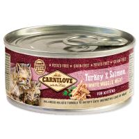 Carnilove White konzerva Mus Meat Turkey & Salmon Kitten 100g