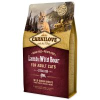 Carnilove Lamb and Wild Boar Adult Cats Sterilised 2kg