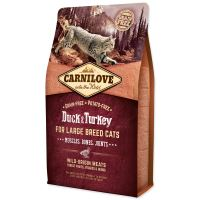 Carnilove Duck and Turkey Large Breed Cats Muscles, Bones, Joints 2kg