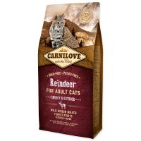 Carnilove Reindeer Adult Cats Energy and Outdoor 6kg