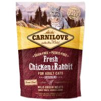 CARNILOVE Fresh Chicken & Rabbit Gourmand for Adult cats 400g