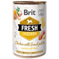 Konzerva BRIT Fresh Chicken with Sweet Potato 400g