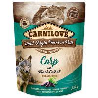 Carnilove Dog Pouch Paté Carp with Black Carrot 300g