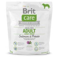 Brit Care Dog Grain-free Adult Large Breed Salmon & Potato 1kg
