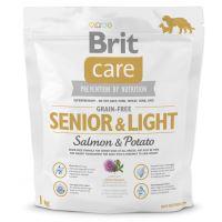 Brit Care Dog Grain-free Senior & Light Salmon & Potato 1kg