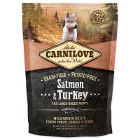 CARNILOVE Salmon & Turkey for Large Breed Puppy 1,5kg