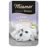 Kapsička MIAMOR Ragout royale kitten hovězí v želé 100g