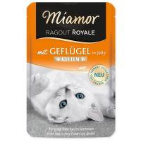 Kapsička MIAMOR Ragout royale kitten drůbeží v želé 100g