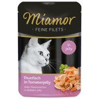 Kapsička MIAMOR Feine Filets tuňák + rajče ve šťávě 100g