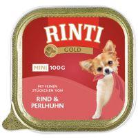 Vanička RINTI Gold hovězí + perlička 100g