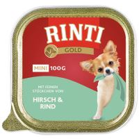 Vanička RINTI Gold jelen + hovězí 100g
