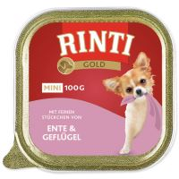 Vanička RINTI Gold kachna + drůbež 100g