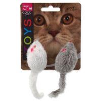 Hračka MAGIC CAT myšky chrastící s catnipem 11cm