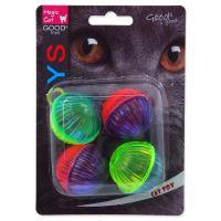 Hračka MAGIC CAT míček lesklý plastový chrastící 3,75cm