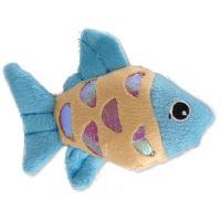 Hračka MAGIC CAT rybka plyšová s catnipem mix 10cm