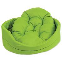 Pelech DOG FANTASY ovál s polštářem zelený