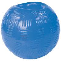 Hračka DOG FANTASY míček gumový modrý 6,3cm